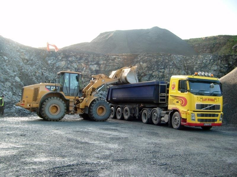 quarrying-lorry